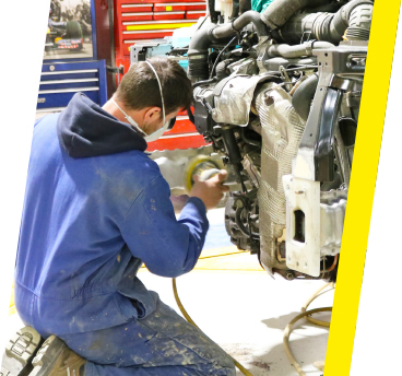 TruckTec bodyshop repair.