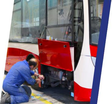 TruckTec bus repair.