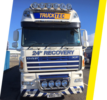 Picture of TruckTec Mobile Van.