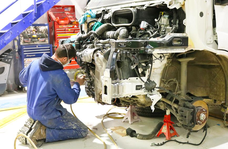 TruckTec bodyshop repair