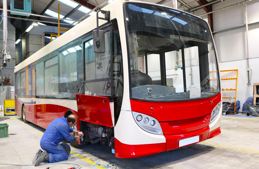 TruckTec's bus repair