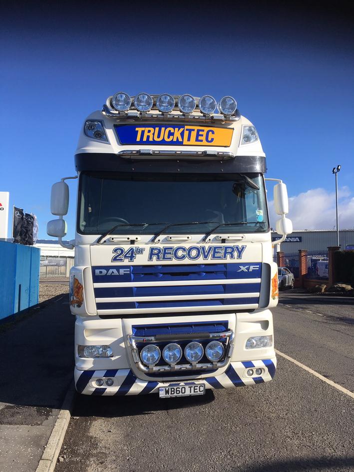 TruckTec Mobile Repair Van